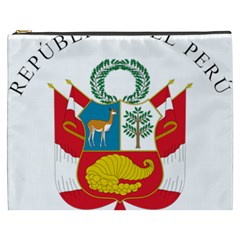 Great Seal Of Peru  Cosmetic Bag (XXXL)