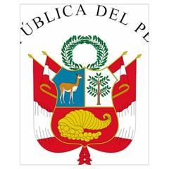 Great Seal Of Peru  Drawstring Bag (Small)