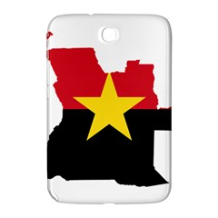 Mpla Flag Map Of Angola  Samsung Galaxy Note 8.0 N5100 Hardshell Case