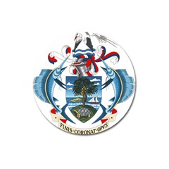 Coat Of Arms Of The Seychelles Magnet 3  (Round)