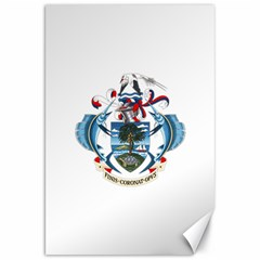 Coat Of Arms Of The Seychelles Canvas 20  x 30
