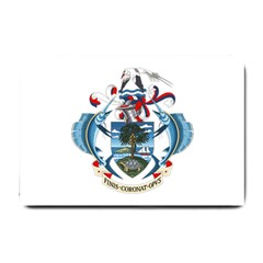 Coat Of Arms Of The Seychelles Small Doormat