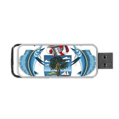 Coat Of Arms Of The Seychelles Portable USB Flash (One Side)