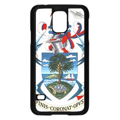 Coat Of Arms Of The Seychelles Samsung Galaxy S5 Case (Black)