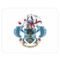 Coat Of Arms Of The Seychelles Double Sided Flano Blanket (Medium)