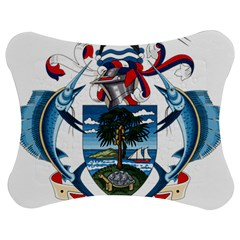 Coat Of Arms Of The Seychelles Jigsaw Puzzle Photo Stand (Bow)