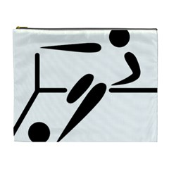 Futsal Pictogram Cosmetic Bag (XL)