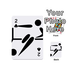 Futsal Pictogram Playing Cards 54 (Mini)