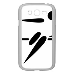 Futsal Pictogram Samsung Galaxy Grand DUOS I9082 Case (White)