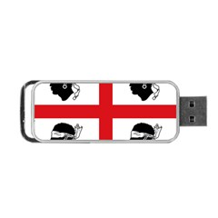 Traditional Flag Of Sardinia  Portable USB Flash (One Side)