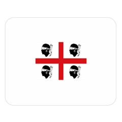 Traditional Flag Of Sardinia  Double Sided Flano Blanket (Large)