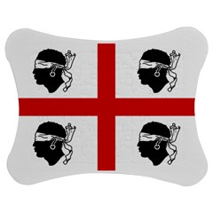 Traditional Flag Of Sardinia  Jigsaw Puzzle Photo Stand (Bow)