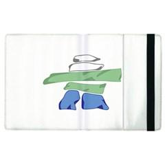 Flag Of Nunatsiavut Apple iPad 2 Flip Case