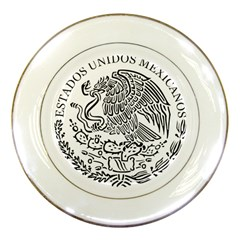 National Seal Of Mexico Porcelain Plates