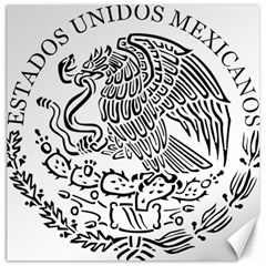 National Seal Of Mexico Canvas 12  x 12