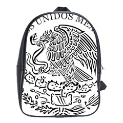 National Seal Of Mexico School Bags(Large)
