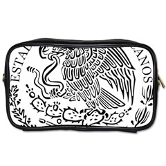 National Seal Of Mexico Toiletries Bags