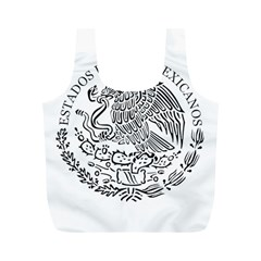 National Seal Of Mexico Full Print Recycle Bags (M)