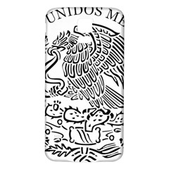 National Seal Of Mexico Samsung Galaxy S5 Back Case (White)
