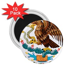 Coat Of Arms Of Mexico  2.25  Magnets (10 pack)