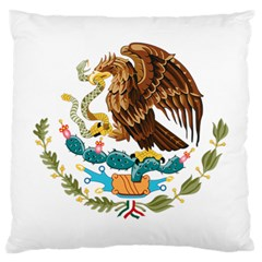 Coat Of Arms Of Mexico  Large Cushion Case (Two Sides)