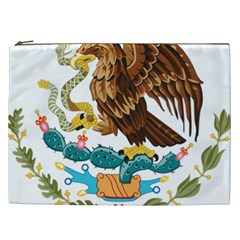 Coat Of Arms Of Mexico  Cosmetic Bag (XXL)