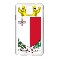 Coat Of Arms Of Malta  Samsung Galaxy Note 3 N9005 Case (White)