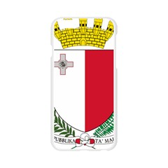 Coat Of Arms Of Malta  Apple Seamless iPhone 6/6S Case (Transparent)