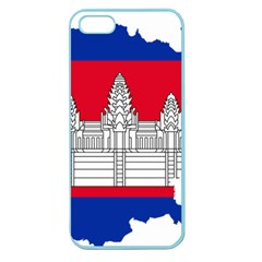 Flag Map Of Cambodia Apple Seamless iPhone 5 Case (Color)