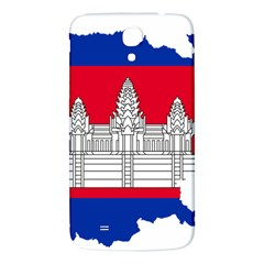 Flag Map Of Cambodia Samsung Galaxy Mega I9200 Hardshell Back Case