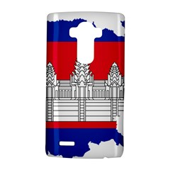 Flag Map Of Cambodia LG G4 Hardshell Case