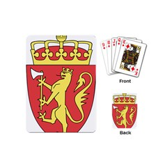 Coat Of Arms Of Norway  Playing Cards (Mini)
