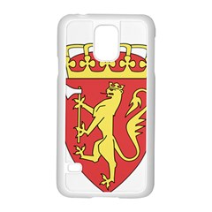 Coat Of Arms Of Norway  Samsung Galaxy S5 Case (White)