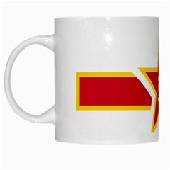 Roundel Of The People s Liberation Army Air Force White Mugs