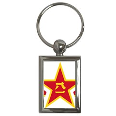 Roundel Of The People s Liberation Army Air Force Key Chains (Rectangle)