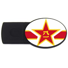 Roundel Of The People s Liberation Army Air Force USB Flash Drive Oval (1 GB)