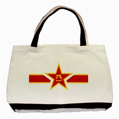 Roundel Of The People s Liberation Army Air Force Basic Tote Bag (Two Sides)