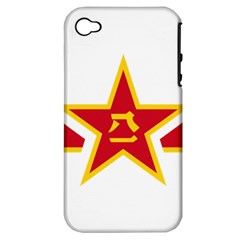 Roundel Of The People s Liberation Army Air Force Apple iPhone 4/4S Hardshell Case (PC+Silicone)