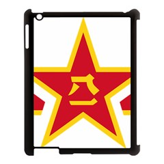 Roundel Of The People s Liberation Army Air Force Apple iPad 3/4 Case (Black)