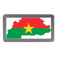 Flag Map Of Burkina Faso  Memory Card Reader (Mini)