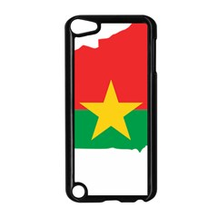 Flag Map Of Burkina Faso  Apple iPod Touch 5 Case (Black)