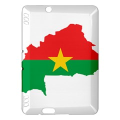 Flag Map Of Burkina Faso  Kindle Fire HDX Hardshell Case