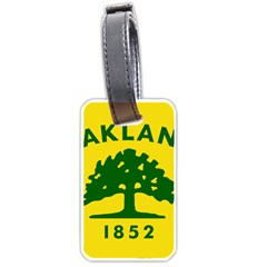Flag Of Oakland, California Luggage Tags (Two Sides)
