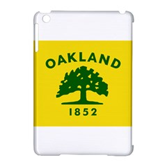 Flag Of Oakland, California Apple iPad Mini Hardshell Case (Compatible with Smart Cover)