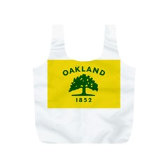 Flag Of Oakland, California Full Print Recycle Bags (S)