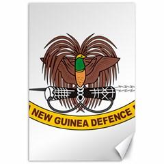 Papua New Guinea Defence Force Emblem Canvas 24  x 36