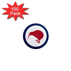 Roundel Of New Zealand Air Force 1  Mini Magnets (100 pack)