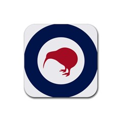 Roundel Of New Zealand Air Force Rubber Coaster (Square)