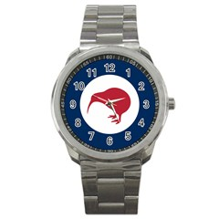 Roundel Of New Zealand Air Force Sport Metal Watch