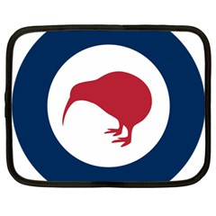 Roundel Of New Zealand Air Force Netbook Case (Large)